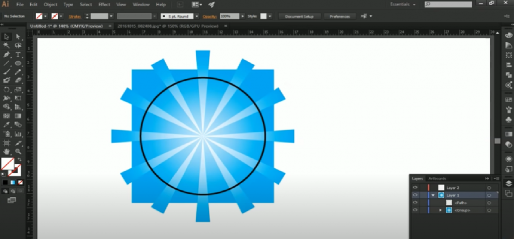 Các công cụ cơ bản của adobe illustrator
