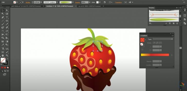 Các ví dụ cơ bản adobe illustrator