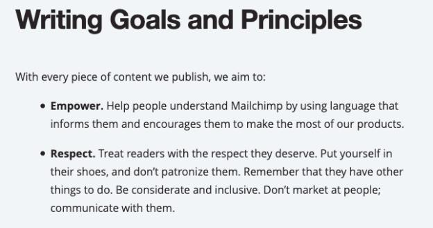 Nguyên tắc viết nội dung: nội dung cần có thương hiệu