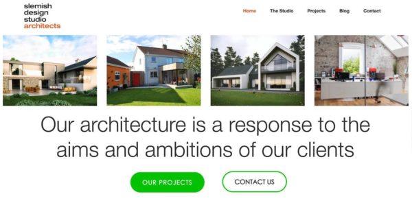 Trường hợp SEO cho trang web kiến trúc