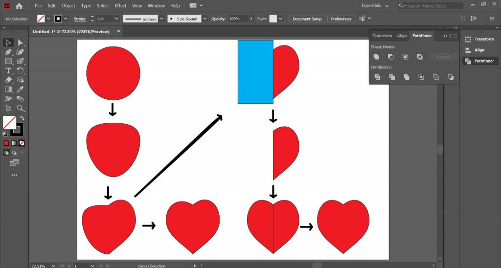 Các hình vẽ cơ bản trong AI