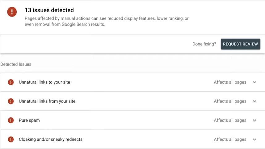 Sử dụng google search console cơ bản