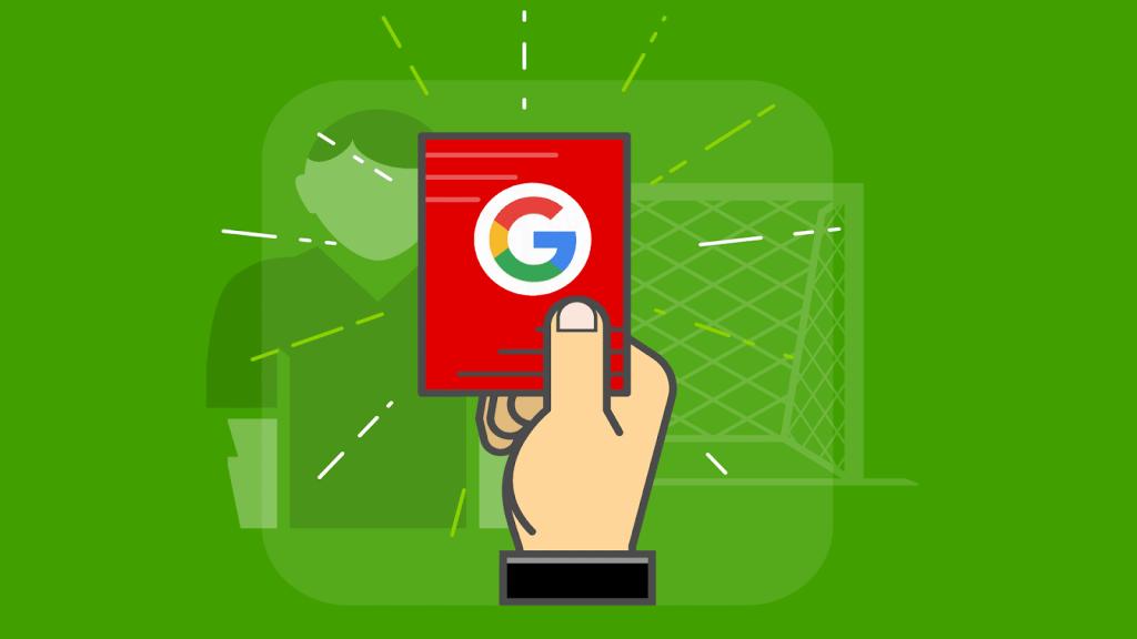 Giải thích các hình phạt của Google