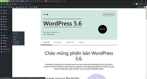 Chèn Zalo chat vào wordpress