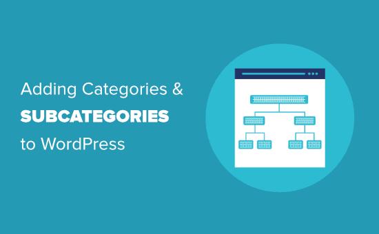 Cách thêm danh mục trong wordpress