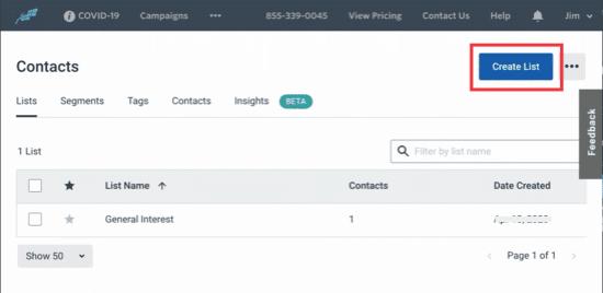 Cách tạo danh sách Email trong WordPress