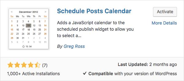 Cách lên lịch cho bài viết wordpress