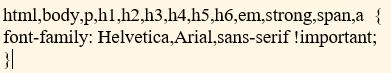 Chỉnh font chữ tiếng Việt trong wordpress