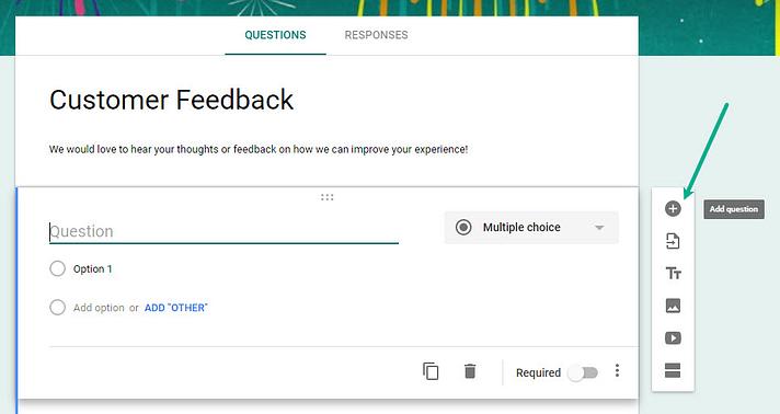 Hướng dẫn nhúng google form website