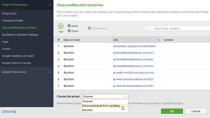 Kiểm tra hồ sơ backlink của website