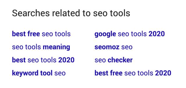 LSI keyword trong SEO