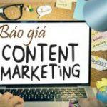Bảng giá dịch vụ content marketing