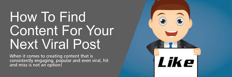 Tìm ý tưởng content viral cho blog