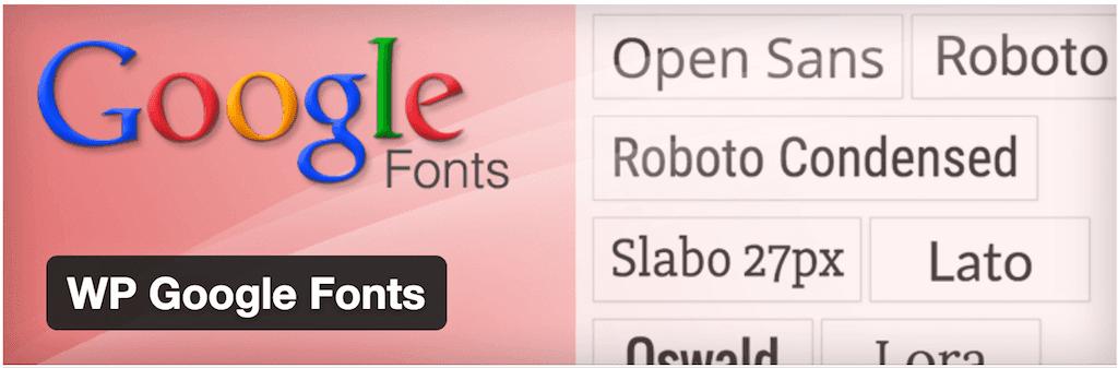 Plugin font WordPress