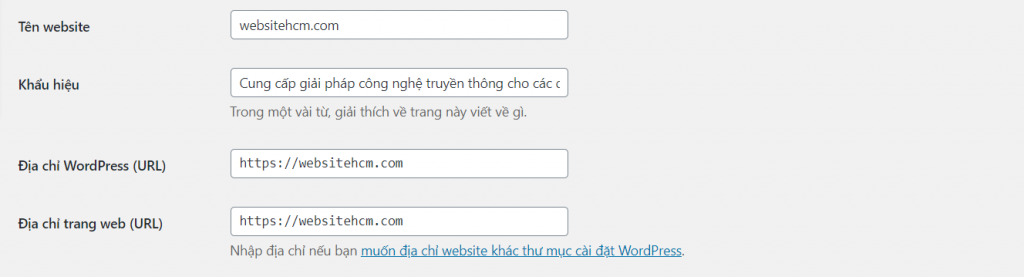 SEO với wordpress