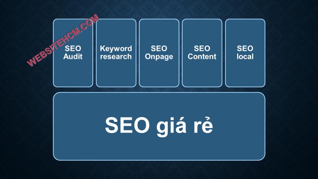 Dịch vụ SEO website giá rẻ phù hợp với ngân sách