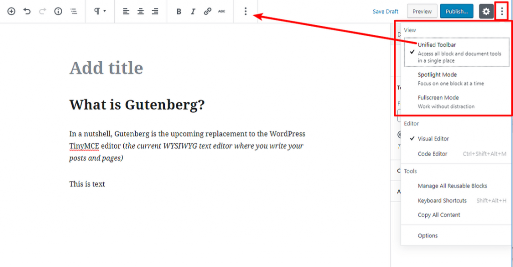 Gutenberg là gì
