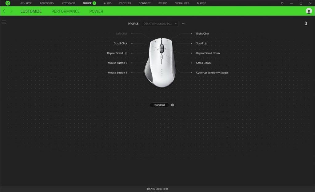 Review Chuột không dây Razer Pro Click