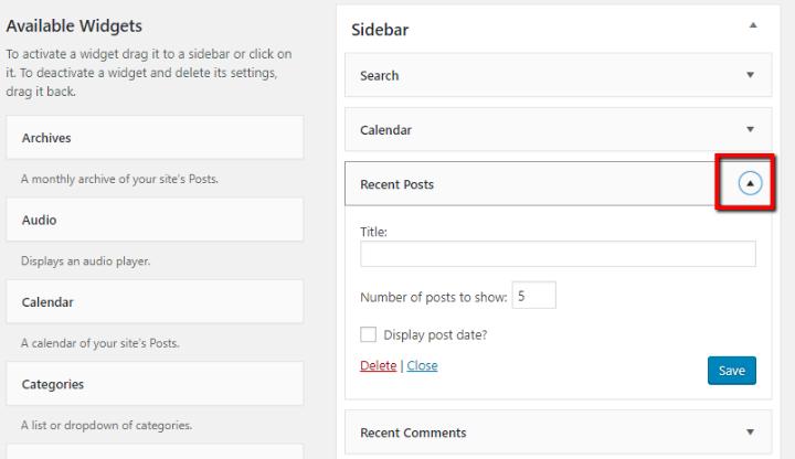 Cách cài đặt và thiết lập theme WordPress