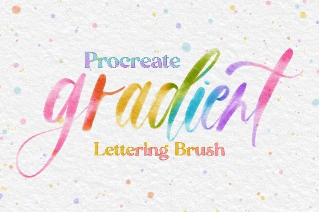 10 Brush Gradient tốt nhất cho Procreate