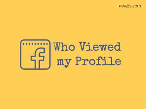 Cách xem những người đã xem hồ sơ của bạn trên Facebook