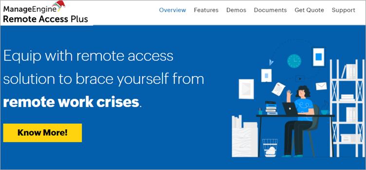 Phần mềm remote desktop (truy cập từ xa)