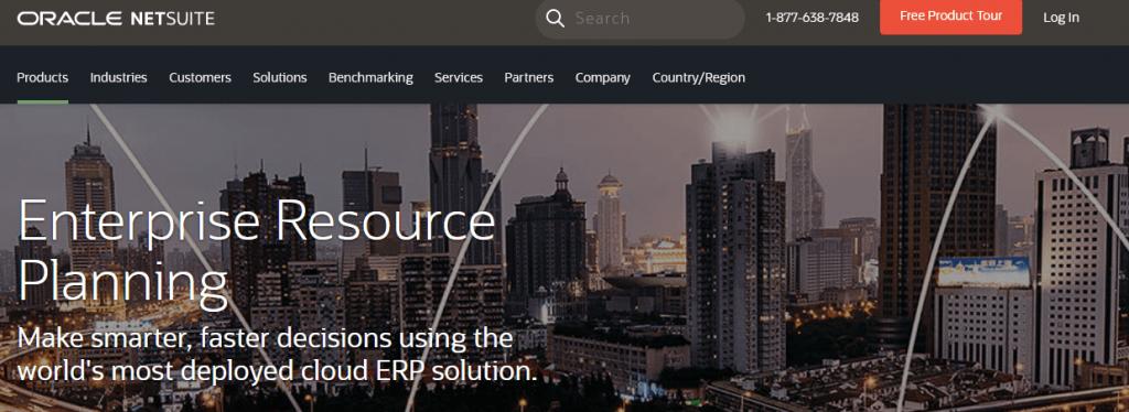 Các phần mềm ERP Software tốt nhất