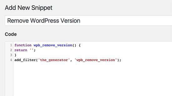 Hướng dẫn chèn code trong wordpress sử dụng   Code Snippets