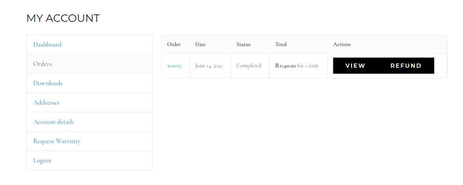 Plugin wordpress hỗ trợ Refund (trả hàng/hoàn tiền)