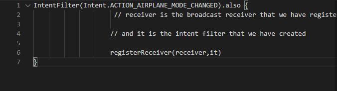 Tìm hiểu Broadcast receivers trong android