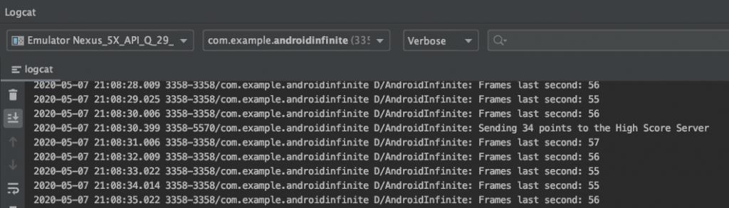 Debugger trong android studio