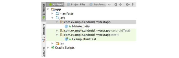 Testing trong Android studio