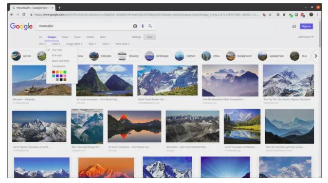 Google Image: cách sử dụng cơ bản