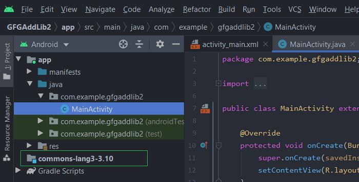 Cách thêm thư viện Jar và Android project