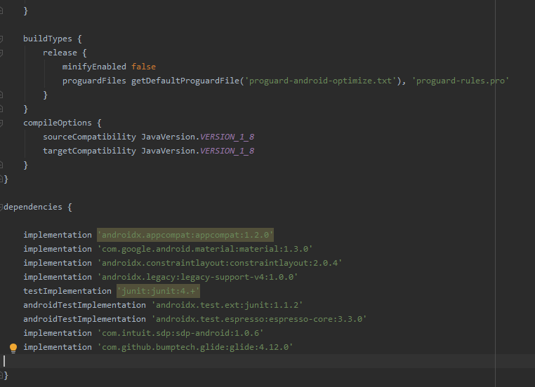 Cài đặt Android support library vào project android studio