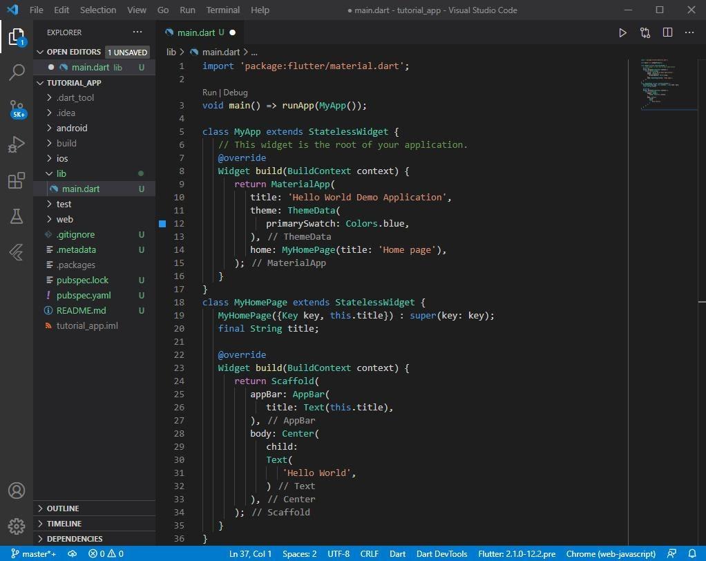 Cài đặt IDE lập trình Flutter trên window