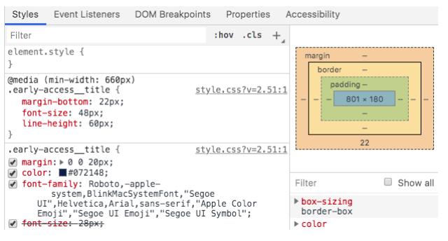 Chrome Developer Tools và cách sử dụng