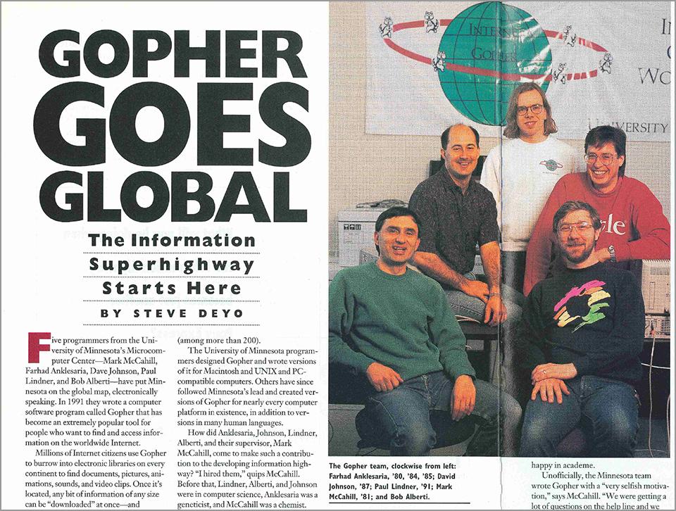 Gopher Protocol là gì? lịch sử gopher